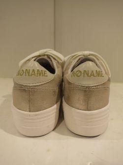 通販 女性 ブランド NO NAME ノーネーム 厚底 スニーカー ゴールド