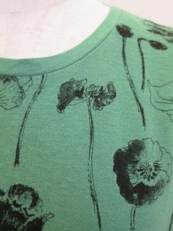 プルオーバー 花柄