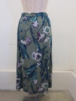 花柄 ロングスカート
